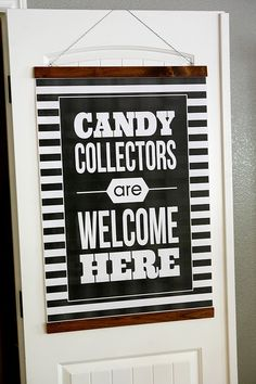 It's the moment you've all been waiting for… the 10th of the month! Today we will be appealing to your naughtiest sweet tooth, because this month's blog hop is all about CANDY: candy crafts, candy recipes, candy printables… candy, candy, candy! So, pull up a seat and get ready to have your cravings triggered by …
