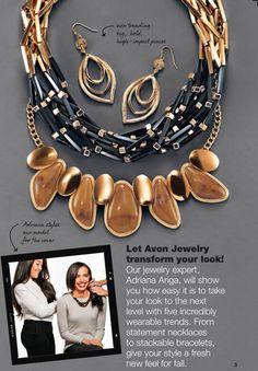 Let Avon Jewelry transform your look.