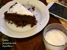 Κέικ σοκολάτας με ελαιόλαδο και αλεύρι ολικής άλεσης χωρίς μίξερ (νηστίσιμο) - cretangastronomy.gr