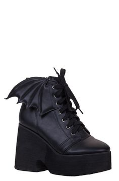 Bat Wing Boot #ironfist  I'm in love <3