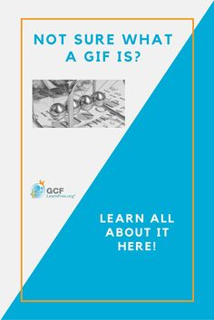 Have you seen those things on the Internet that kinda look like pictures, but they move? They're called GIFs, and we explain all about them in this GCFLearnFree.org article.