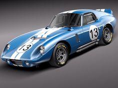 1964 Shelby Cobra Daytona Coupe - $4,400,000