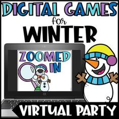 Christmas Games For Kids, Winter Activities For Kids, Halloween Games For Kids, Winter Games, Holidays With Kids, Winter Fun, Holiday Activities, School Holidays, Winter Theme