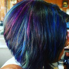 peacock hair - Google Search