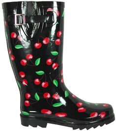 cute rubber boots!