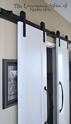 Hometalk | Maximize a Small Space With Barn Doors - I would like to change out the bi-fold doors on my bedroom closet and put these type of doors in their place so I have more room for my dresser! by valinda kornhauser