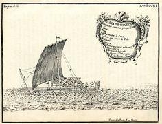 Balsa del Corregimiento de Guayaquil - Jacques L'Hermite