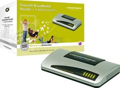* firewall conceptronic broadband router switch 10/100 4 p c100brs4h #geek #tecnologia #oferta #regalo #novedades