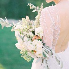 Romantic bridal bouquet 💕