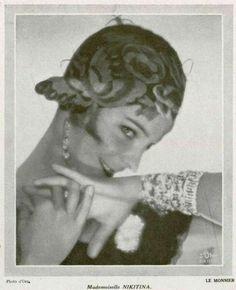 Ballerina Alice Nikitina Photo by Madame d'Ora, 1929