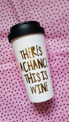 cute travel mug for the wine lover