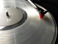 Clear vinyl on the turntable. #music #records #vinyl http://www.pinterest.com/TheHitman14/for-the-record/