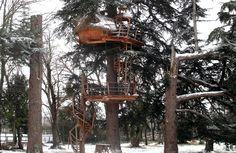 Cabane des énigmes - Cabane dans les arbres pour couple près de Bordeaux