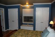 Window Bench With Closets Built In Closet Ideas