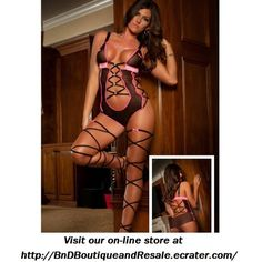 4d3dad1cfce  Black Fishnet Teddy Lingerie  is going up for auction at 9pm Wed