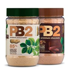 PB2...peanut butter without all the calories! literally best thing ever