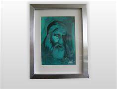 Mędrzec turkusowy- na szczęście w W.pelni Design na DaWanda.com