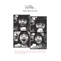 Photo Books: Hello Love, 12x12, Genuine leather cover with layflat pages