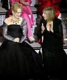 Meryl Streep and Barbra