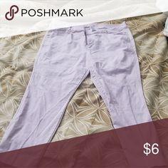 687a8ce5d8175 Women s plus size pixie pants Pixie pants pastel purple Old Navy Pants  Capris Pixie Pants
