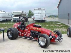 Sprint Car Racing, Dirt Track Racing, Auto Racing, Vintage Race Car, Car Photos, Formula 1, F1, Cars Motorcycles, Race Cars