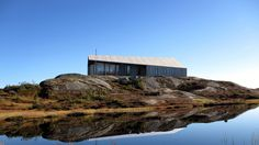 Architecture firm Snøhetta has unveiled this prefabricated cabin, which is designed with a twisted roof to offer protection in harsh weather conditions.