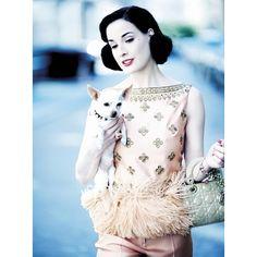 Дневник -Dita_Von_Teese- LiveInternet ❤ liked on Polyvore featuring models