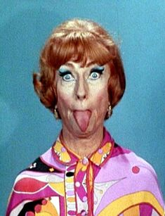 "From the show Bewitched. Samantha's mom, Endora (the 'Witch~iest"" mother-in-law EVER)"
