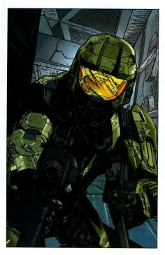 What Does Dark Horse Have Planned For Halo? John 117, Halo Spartan, Halo Master Chief, Halo Series, Halo Game, Halo Reach, Dark Drawings, Red Vs Blue, Video Game Art