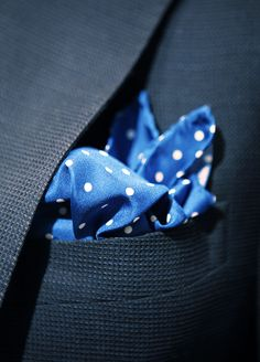 love a great pocket square