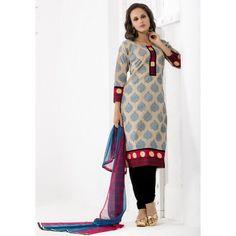 Office Wear Readymade Beige Salwar Suit - 79881