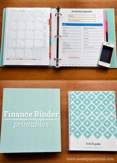 Our finance binder organization/planners 정리 Financial Binder, Financial Organization, Budget Organization, Financial Tips, Financial Planning, Organizing Life, Organizing Ideas, Bill Organization Binders, Financial Literacy