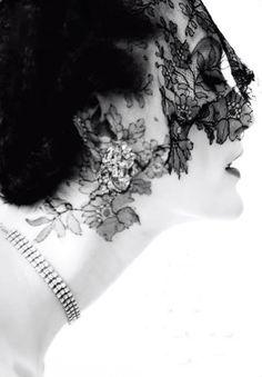 【ヘア】和装で人前式ですが、顔を隠すベールがあっても素敵かも。
