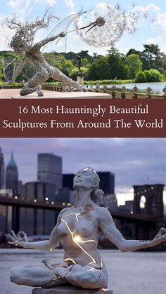 Humans have been making sculptures since the dawn of time, even though the technology wasn't that great and not developed at all. #16 #Hauntingly #Sculptures