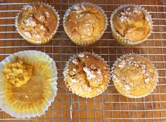 REALLY tasty g-free pumpkin muffins! Great texture, too :)