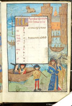 Book of Hours, MS S.7 fol. 4r - Images from Medieval and Renaissance Manuscripts - The Morgan Library & Museum