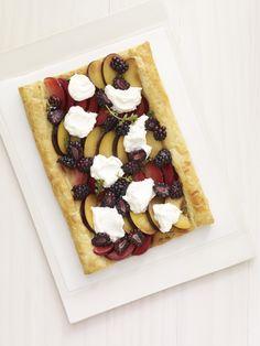 Plum and Blackberry Tart #myplate #fruit #summer #dessert