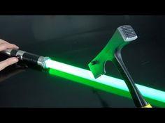 What's inside a $4 vs $400 Lightsaber? - YouTube