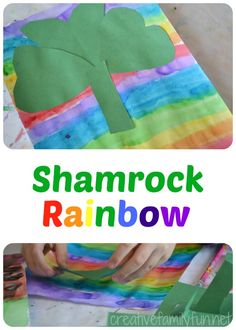 Creative Family Fun: Shamrock Rainbow