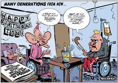 Intergenerational Report: We'll Live Longer... but be Poorer. @theTiser #intergenerationalreport #auspol