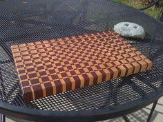 End grain cutting board #3