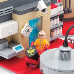 If I had a spare $350 or the £ equivalent! - Bummed out that your favorite show is over? Well soothe yourself with the Citizen Brick Superlab Playset. Who knows what fun you'll cook up with this deluxe set, chock full of realistic details, and three exclusive minifigs! Over 500 parts! Please allow 2 weeks for shipping.