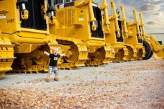 That's my little boy someday! Wyoming Machinery!!