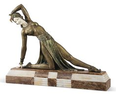 DEMETRE CHIPARUS (1886-1947) | EXOTIC DANCER SCULPTURE, CIRCA 1920