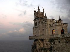 national geographic best of the world 2013 | Picture of the Swallows Nest castle, Livadia, Ukraine
