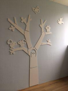 Woood MDF boom in de babykamer van onze dochter :)