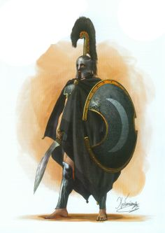 Thespian Hoplite  by C.Giannopoulos