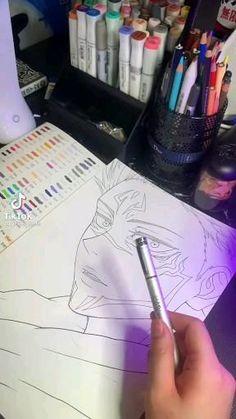 Anime Diys, Anime Crafts, Manga Tutorial, Diy Tutorial, Manga Art, Anime Art, Anime Character Drawing, Poses References, Anime Music