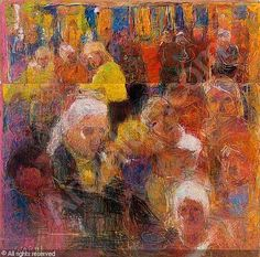 View A crowd by Rafael Wardi on artnet. Browse upcoming and past auction lots by Rafael Wardi. Finland, Crowd, Auction, Pastel, Painting Portraits, Paintings, Artists, Modernism, Surrealism