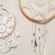 imakeshinythings:    Some finished projects. #dreamcatcher